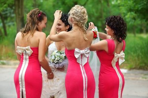 Wedding Gown and Bridesmaid dress ideas